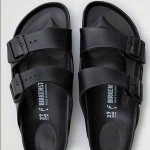 Birkenstock Arizona Black Eva Two Strap Sandal -36